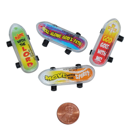 Mini Christian Skateboards Small Toy