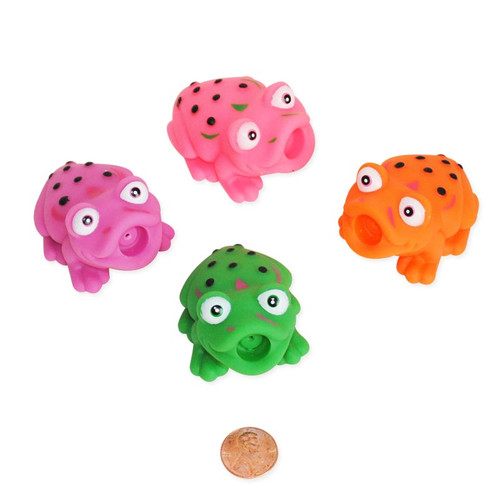 Mini Frog Squirt Toys