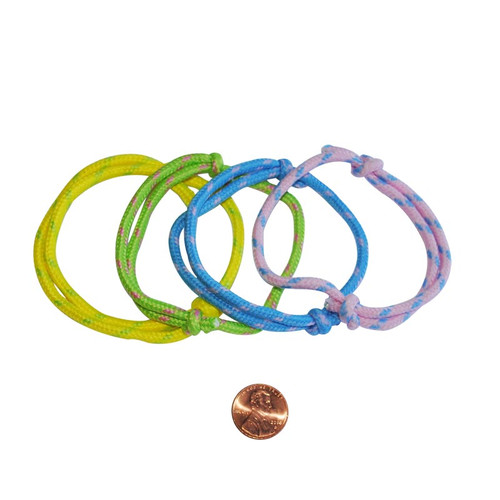 Nylon Pastel Friendship Rope Bracelets