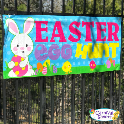 Easter Egg Hunt Banner - Outside Sign