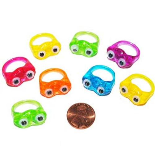 Wiggle Eye Rings toy