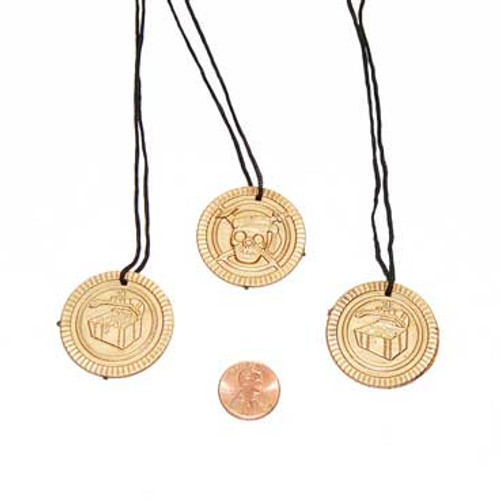 Pirate Coin Neclace Toy