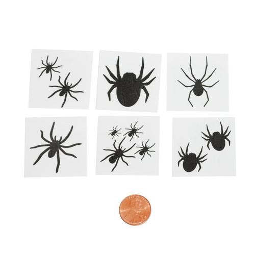Black Spider Tattoos