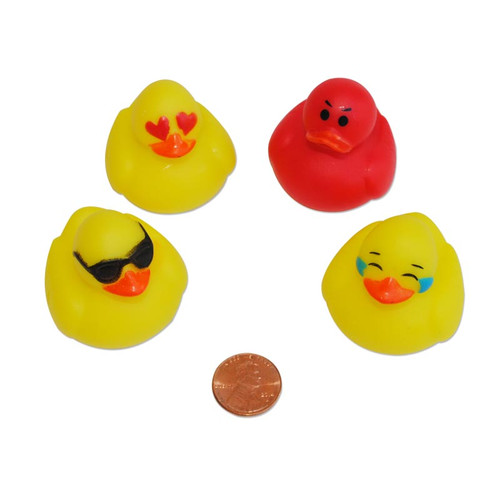 Mini Emoji Rubber Ducks