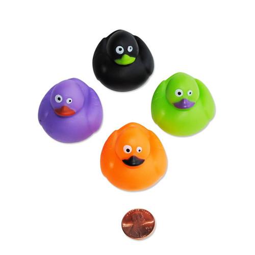 Mini Halloween Rubber Ducks