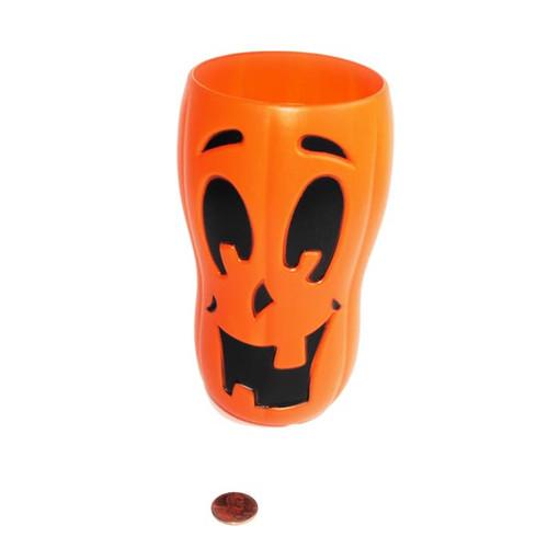 Halloween Jack O Lantern Design Plastic Cup