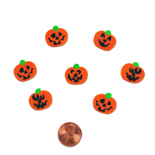 Mini Pumpkin Erasers - New