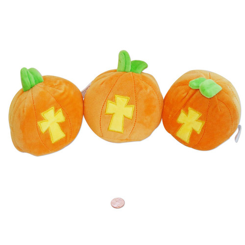 Christian Plush Pumpkins - New