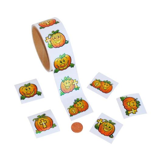 Christian Pumpkin Stickers