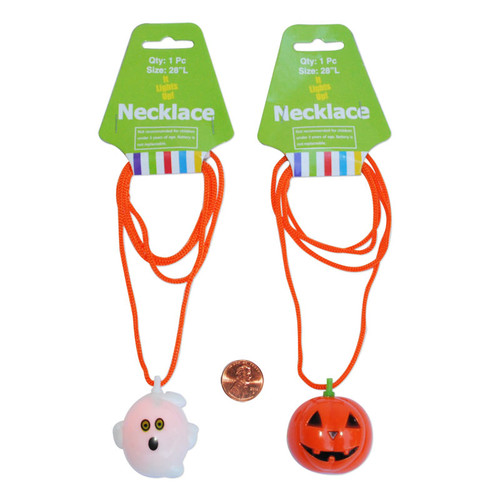 Flashing Halloween Necklaces