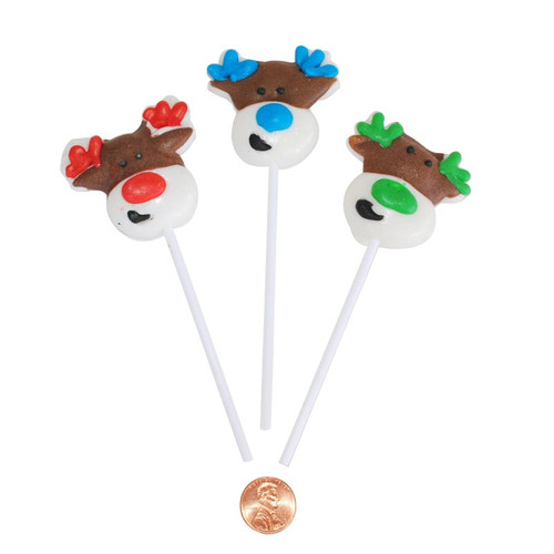 Reindeer Shaped Lollipops