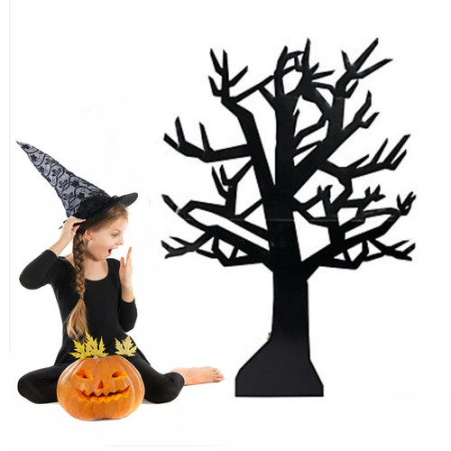 Cardboard Spooky Halloween Tree Decoration