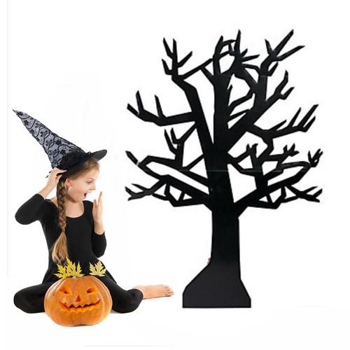 Cardboard Spooky Halloween Tree Decoration