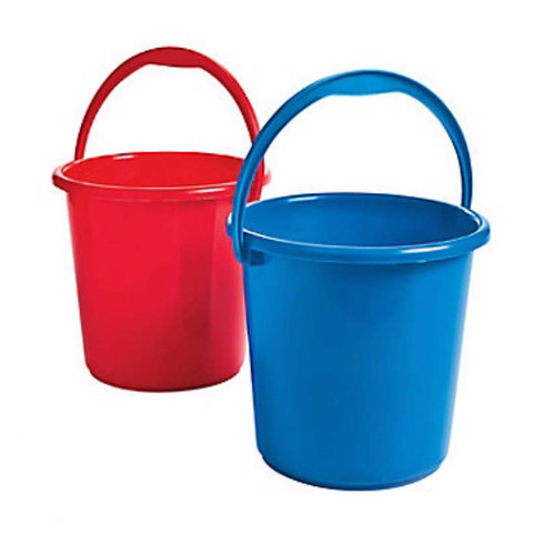 Medium Sized Red White Sand Pails or Buckets for Carnival Games