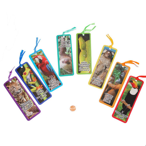 Animal Cardstock Bookmarks