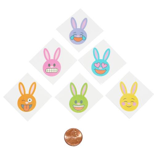 Emoji Bunny Tattoos
