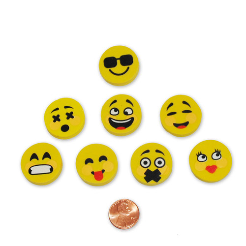 Mini Emoji Erasers