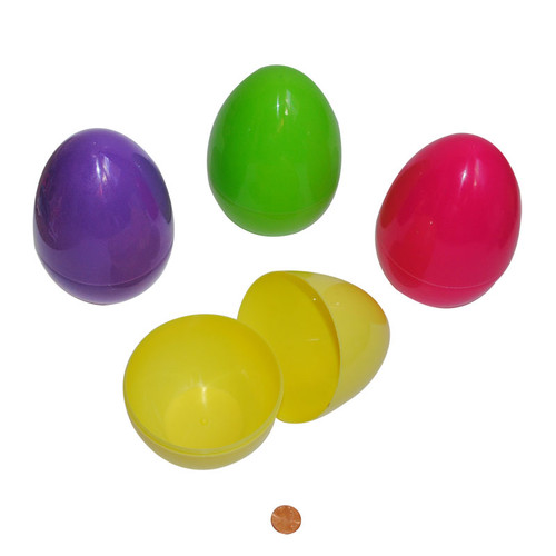 Large Plastic Easter Eggs