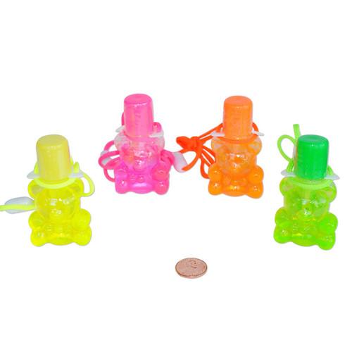 Bear Bubble Necklaces