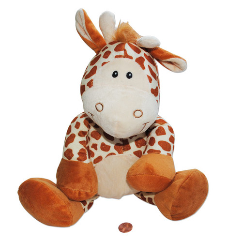 Plush Happy Giraffe