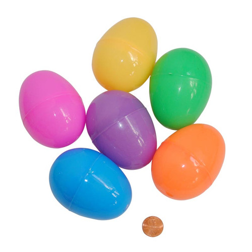 Larger Bright Easter Eggs - Great for Toddler Goodies!