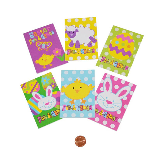 Mini Easter Fun & Games Books