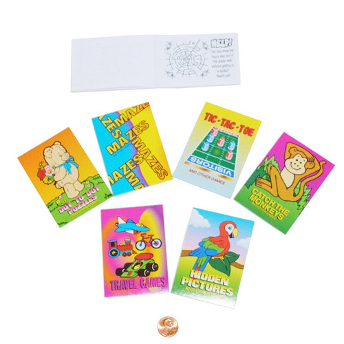 Mini Activity Game Books