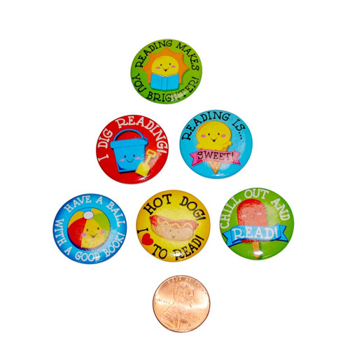 Summer Reading Fun Mini Buttons