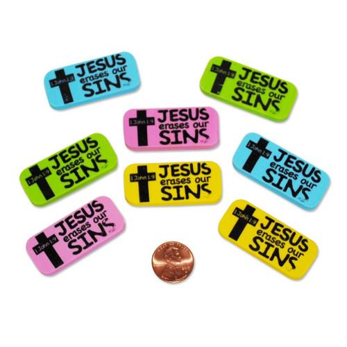 Jesus Erasers our Sins Erasers