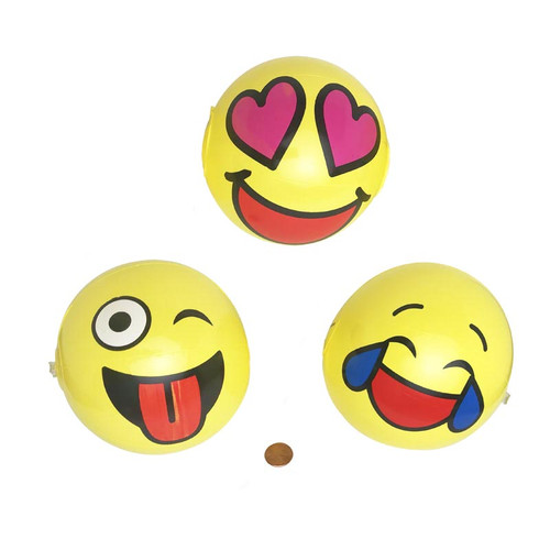 Mini Emoji Beach Balls