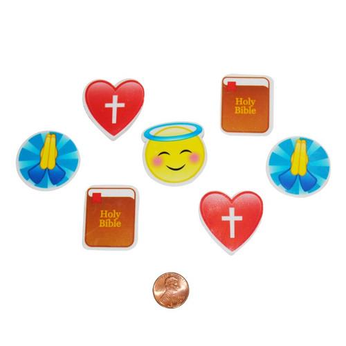 Religious Emoji Erasers