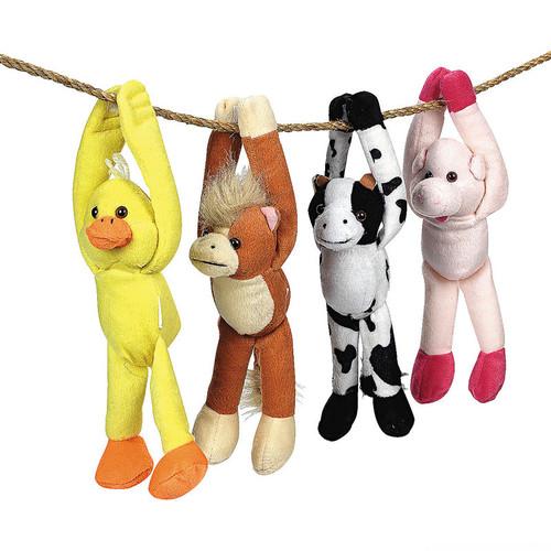 Plush Long Armed Farm Animals