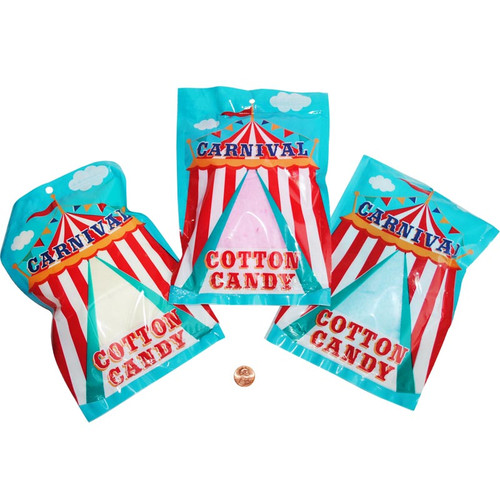 Carnival Cotton Candy Individually Packaged