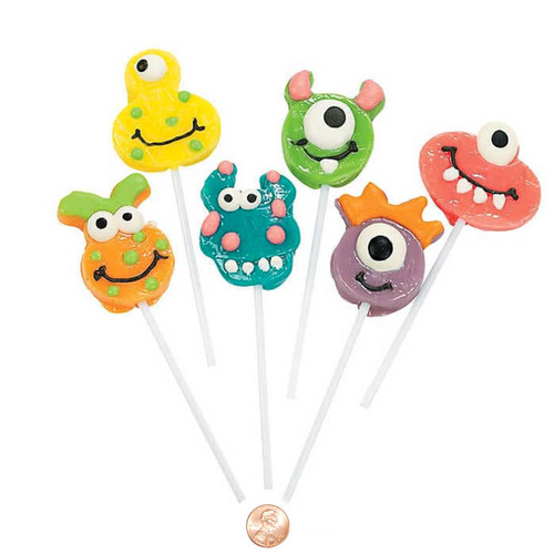 Friendly Monster Frosted Lollipops Wholesale