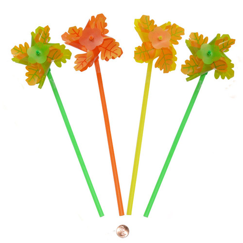 Fall Leaf Pinwheels Wholesale