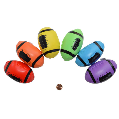 Colorful Mini Foam Footballs