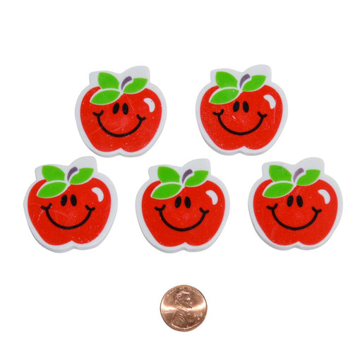 Apple Shaped Erasers Wholesale
