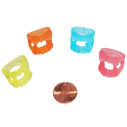 Glow in the Dark Teeth Rings