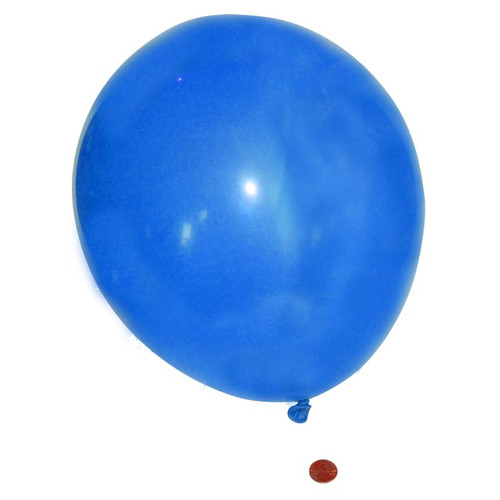Blue Latex Balloon 11 inch wholesale