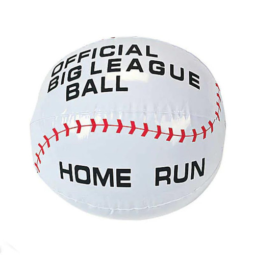 Inflatable Baseball Beach Ball Small