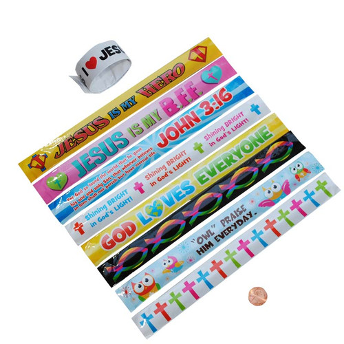 Christian Slap Bracelets Wholesale