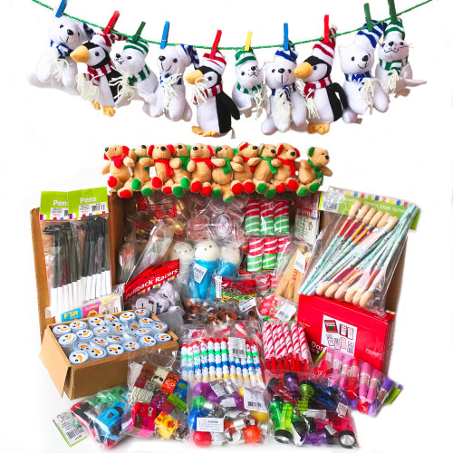 Santa Shop Merchandise Gifts and Toys  - Perfect for School Secret Santa Shops and Holiday Shops