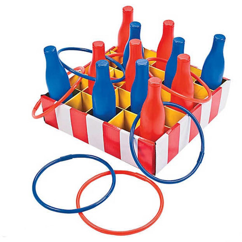 Carnival Game Set - Plastic Cola Ring Toss
