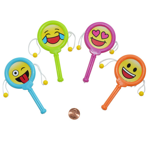 Mini Emoji Noisemakers