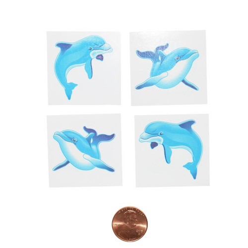 Dolphin Removable Tattoos