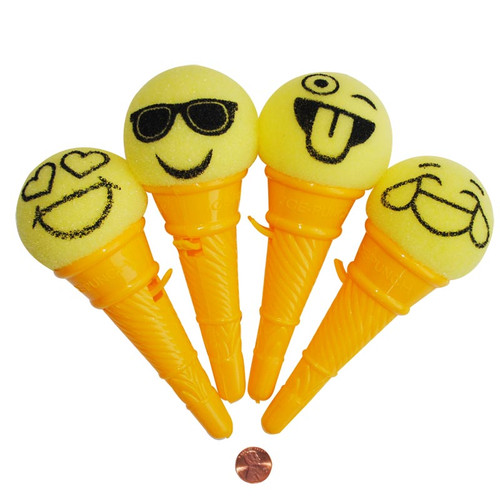 Emoji Ice Cream Shooter Novelty Toy