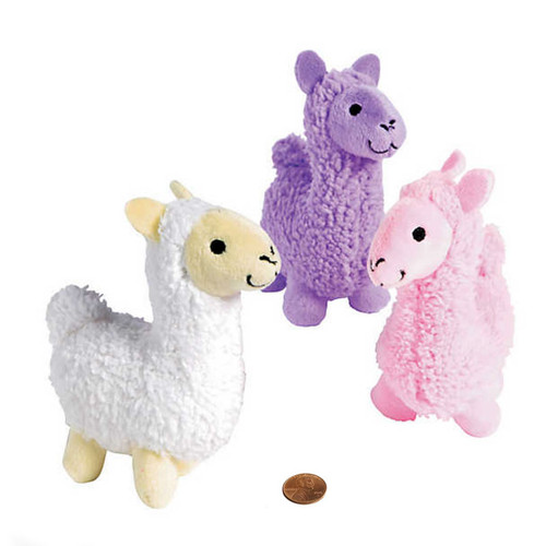 Mini Toy Llamas - Plush Stuffed Animals