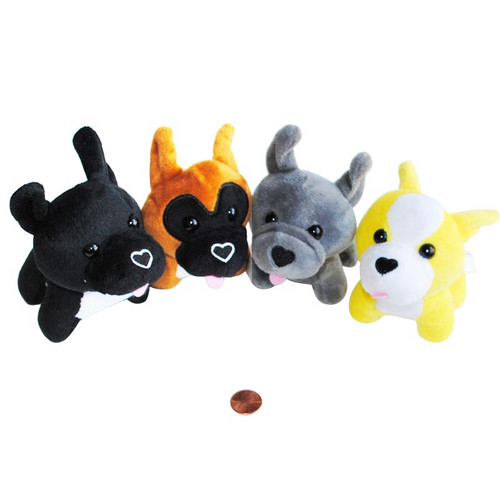 Mini Stuffed Dogs