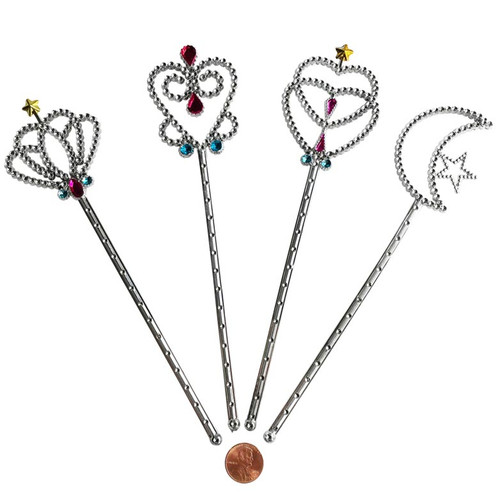 Jeweled Plastic Princess Wands Toy