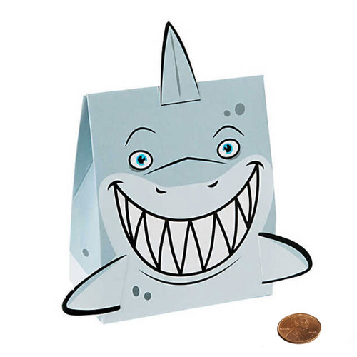 Mini Shark Themed Favor Boxes